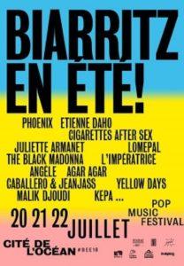 Festival Biarritz en Été juillet 2018