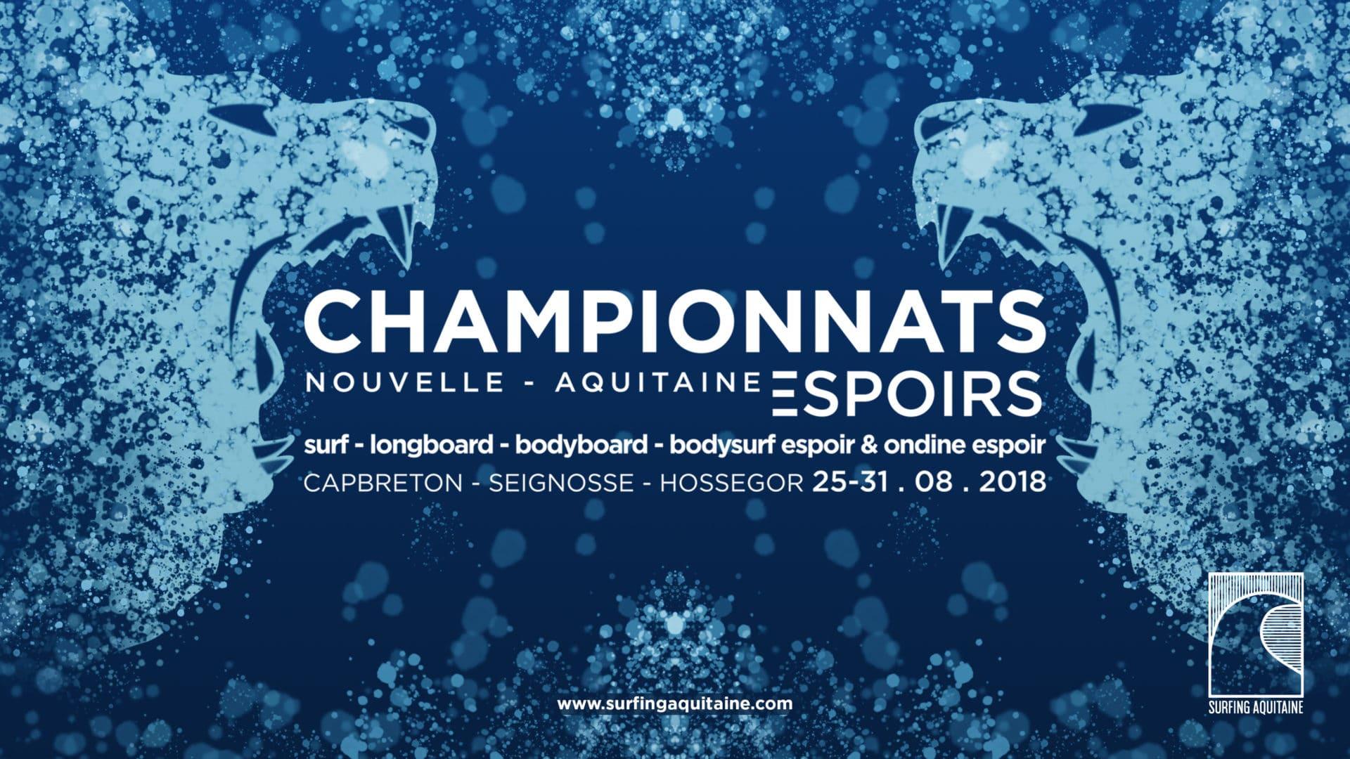 championnats surf nouvelle aquitaine espoirs 2018