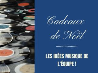 idées cadeaux musique wave radio cd vinyles