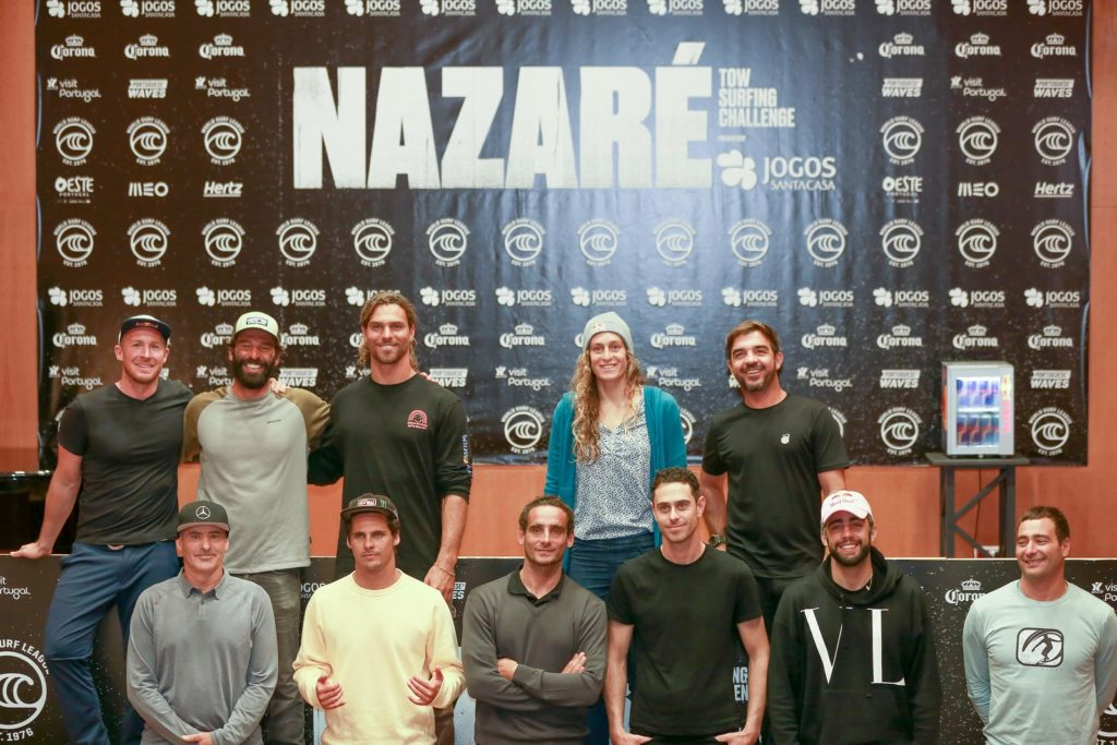 conférence Nazaré Tow Surfing Challenge presented by Jogos Santa Casa