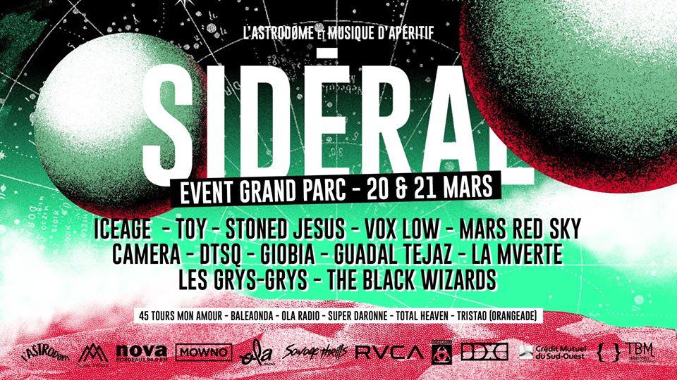 Sidéral Fest #3 à Bordeaux par l'astrodome et musique d'apéritif