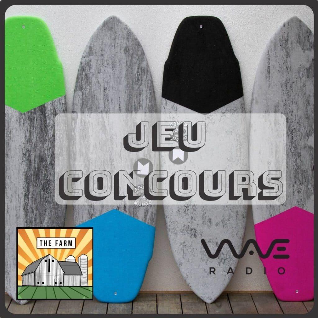 Jeu Concours Instagram The Farm Wave Radio
