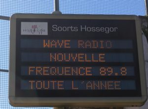 Wave Radio toute l'année à Hossegor