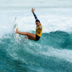 Johanne Defay vainqueur du Frenc Rendez-vous of surfing