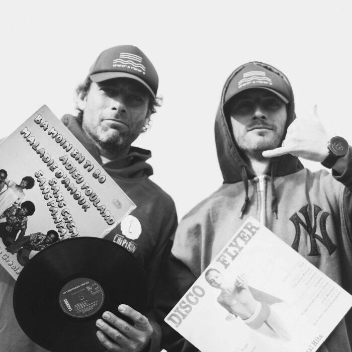 Jay Da Wigga et Doc Lamixe animateur de The Boom Bap Show émission hip hop