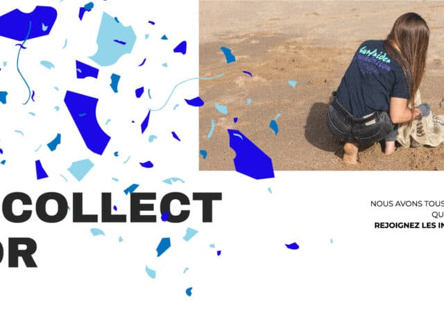 Campagne Surfrider Europe Initiatives océanes #I collect for