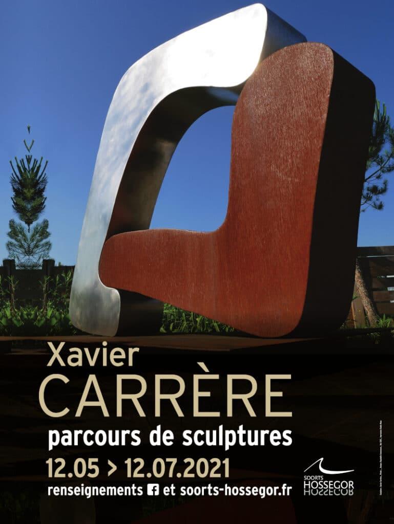Exposition Xavier Carrere Hossegor landes