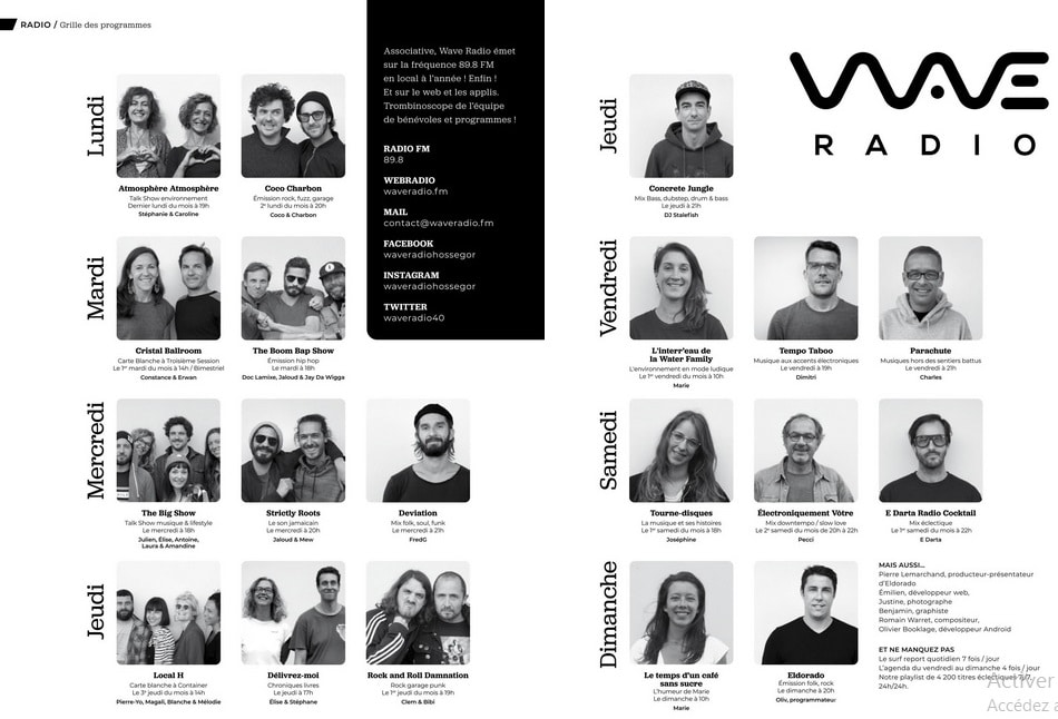 équipe animateurs Wave Radio
