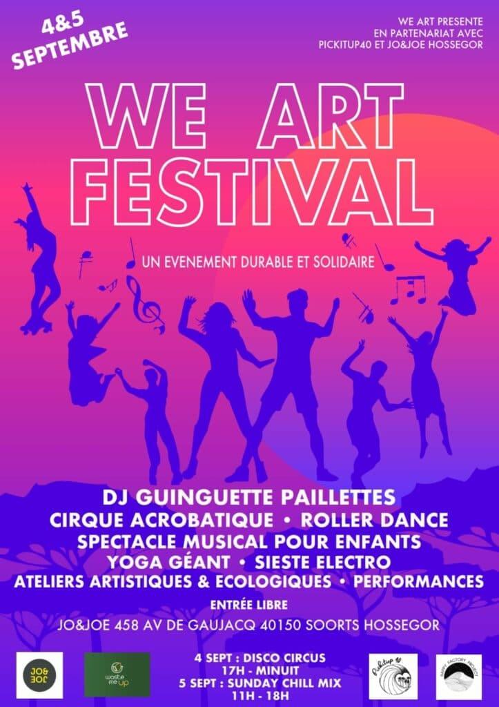 we art festival hossegor
