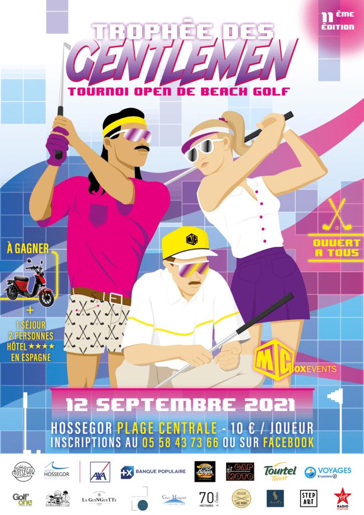 trophée des gentlemen beach golf hossegor